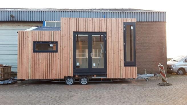 Eerste Tiny House van Hilversum komt op Werf35