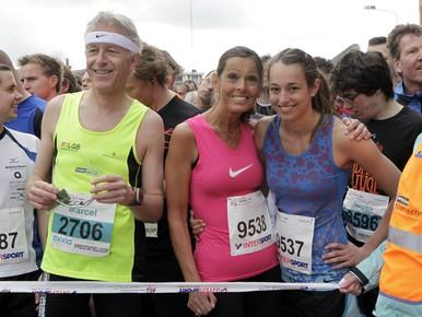 Jong en oud in Hilversum in actie op Spieren voor Spieren City Run