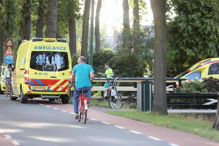 Meisje gewond na val uit boom bij woning in Maartensdijk
