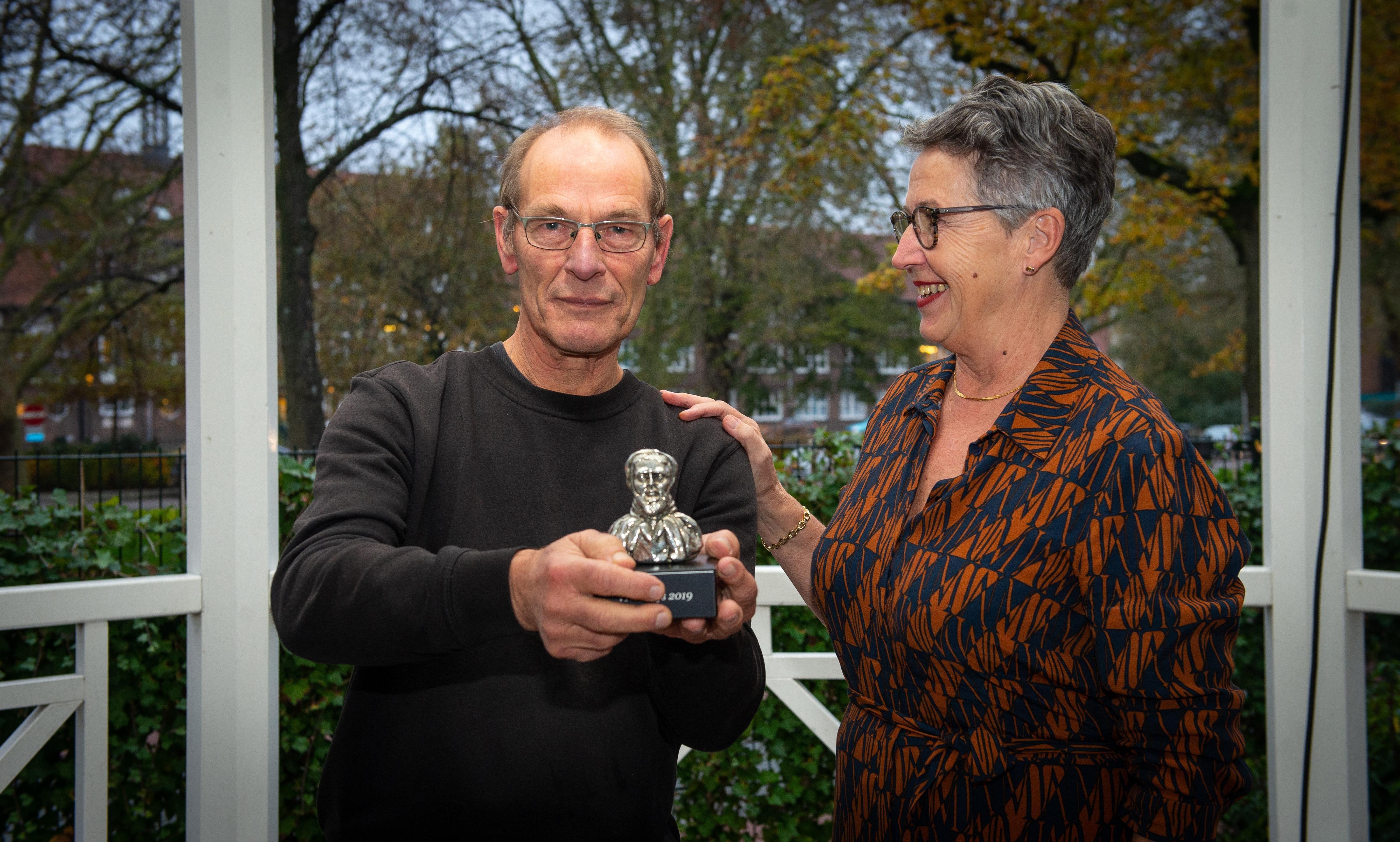 Historische prijs voor bescheiden Klaas Kwadijk - Noordhollands Dagblad