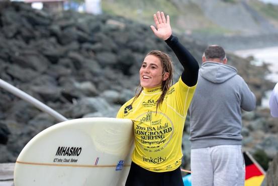 Wijk aan Zeese Anne Albers maakt haar dromen waar op WK longboarden