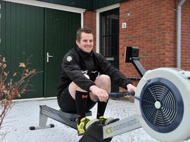 MS weerhoudt Johan van Etten uit Graft er niet van om fanatiek te blijven sporten