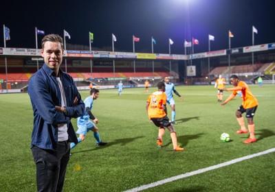 Sonny Sier: van piepjonge fan tot perschef FC Volendam