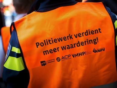 Politieprotest: niet bekeuren maar waarschuwen