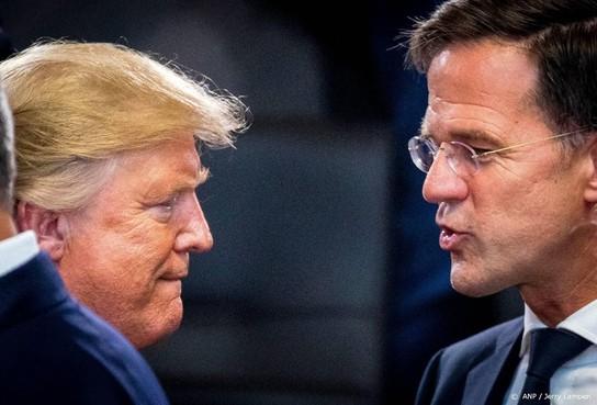 Rutte: Trump komt misschien in augustus
