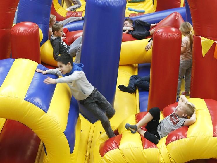 Jumping Schagen trekt veel kids [video]