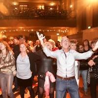 Het benefietconcert 'IJmuiden zingt Hazes' trok afgelopen weekeinde zo'n 250 bezoekers.