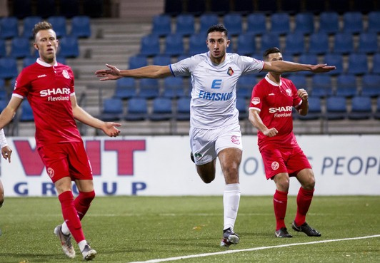 Snelle treffer Kharchouch is voldoende voor Telstar om te winnen van Almere City FC [video]