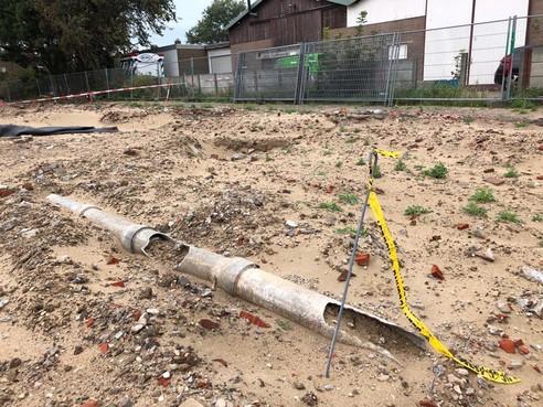 Grote onrust over asbest dat open en bloot ligt op Corodex-terrein in Zandvoort-Noord