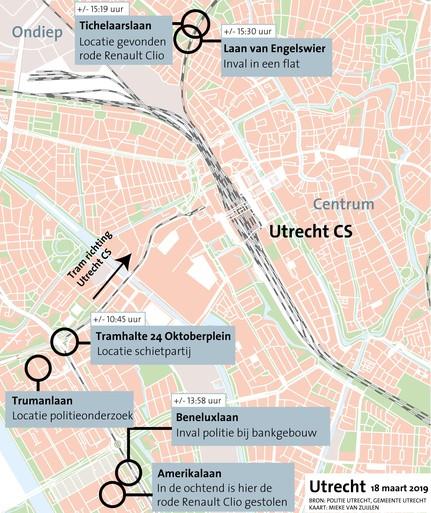 Drie dodelijke slachtoffers bij schietpartij in Utrecht [video]