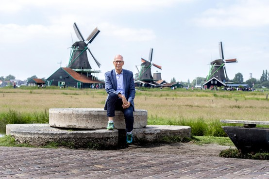 Sinterklaas als ambassadeur Zaanse Schans