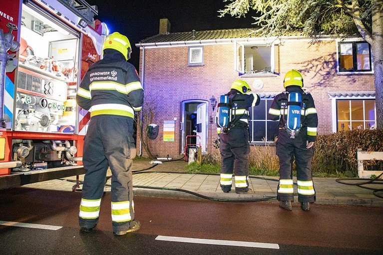 Persoon raakt gewond bij woningbrand in Cruquius