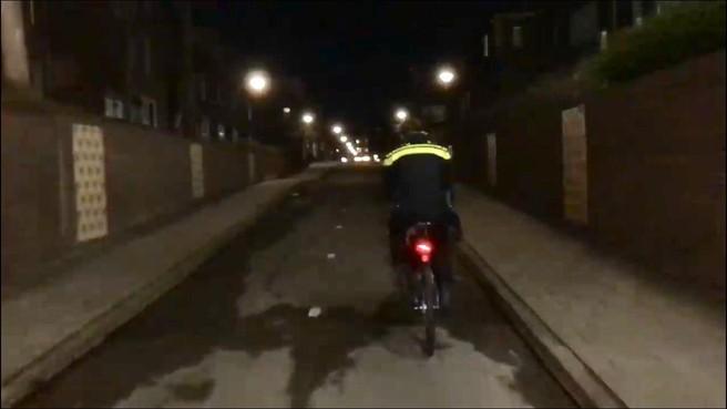 Bikers politie patrouilleren in Hoorn-Kersenboogerd: 'rustige avond'
