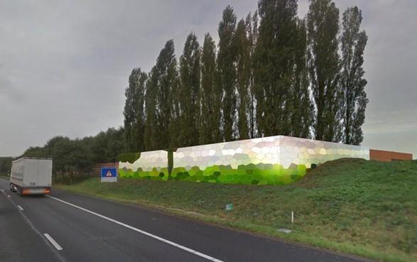 Prijswinnende graffitikunst verjaagt saaiheid langs A27 bij Blaricum