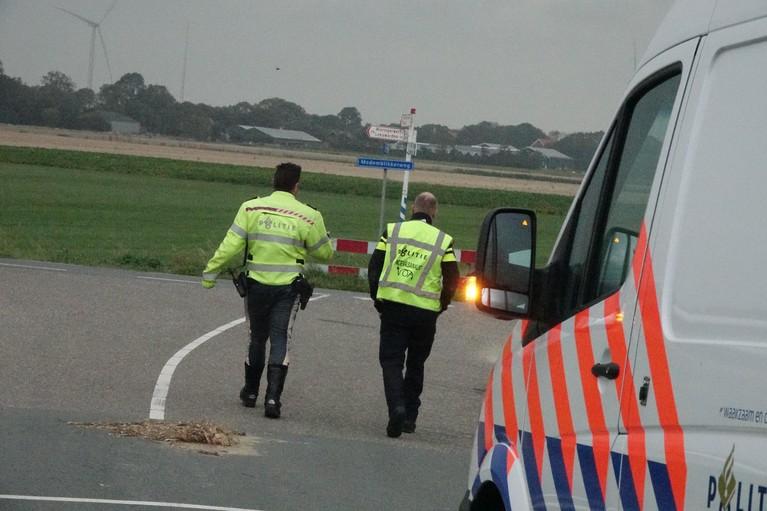 Scooterrijder gewond bij aanrijding met auto in Wieringerwerf