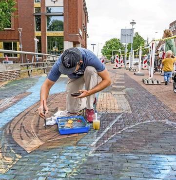 3D-street art komende zomer op drie locaties te vinden in Den Helder [video]