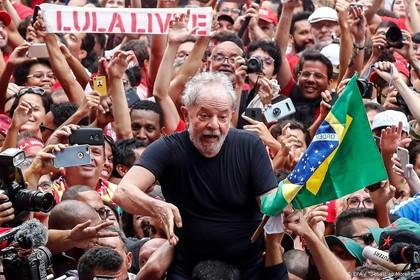 Lula bereid tot de strijd