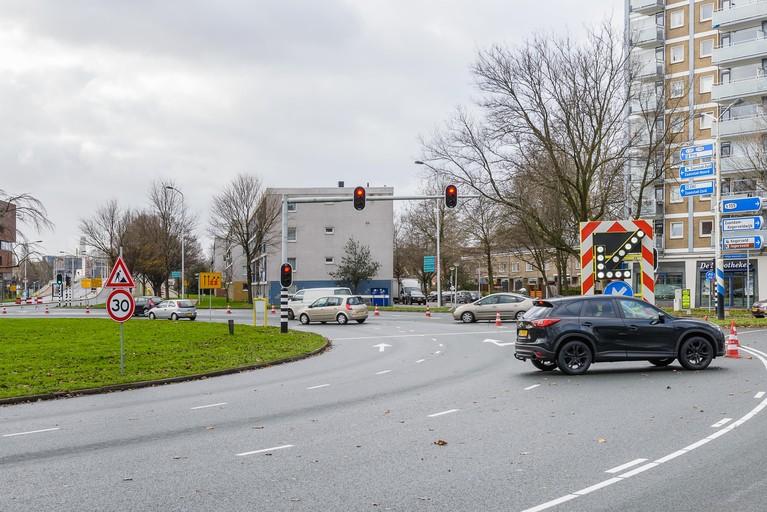 Afgesloten Bernhardbrug Zaandam leidde niet tot ernstige problemen