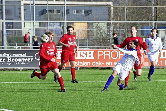 FC Castricum hekkensluiter top vier in derde klasse A