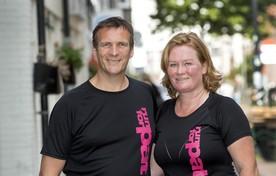 Bart Smulders en Chantal van Denken eren hun vrouw en vriendin met 'Run for Pat'