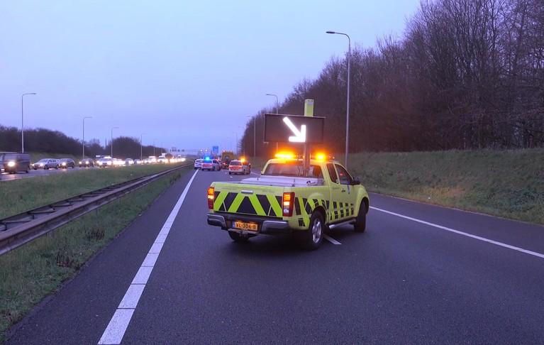 Gewonden en veel oponthoud op A7 en in Hoorn na ongeval