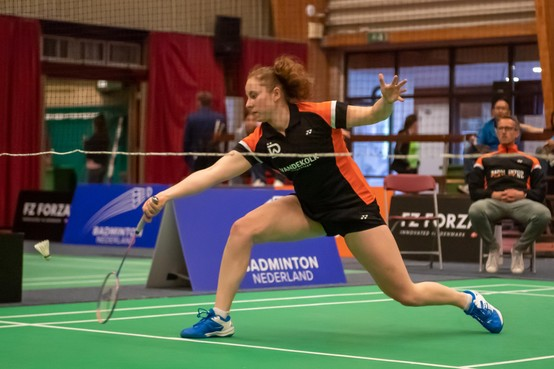 Duinwijck grijpt naast winst in het bekertoernooi badminton