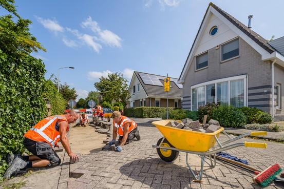Niet de fiets, maar het pad rammelt nu in de Zaanstreek