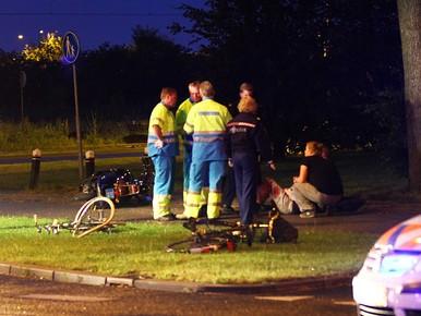 Twee gewonden bij botsing in Alphen aan den Rijn