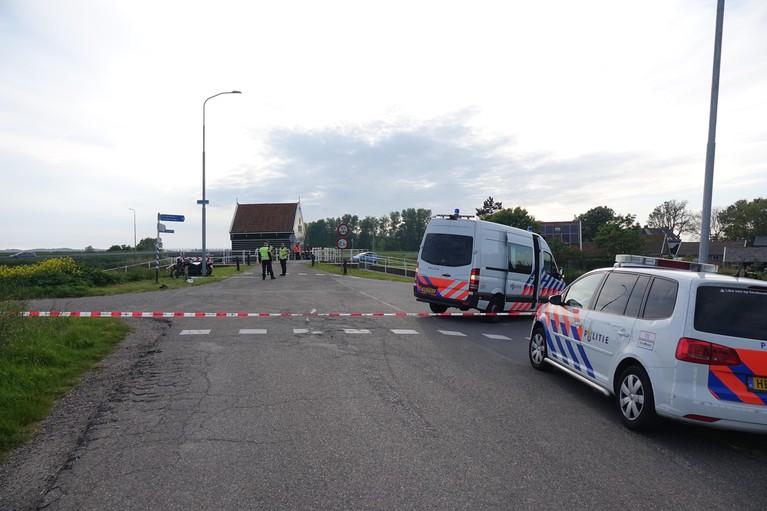 Motorrijder overleden na eenzijdig ongeval in Zijpersluis