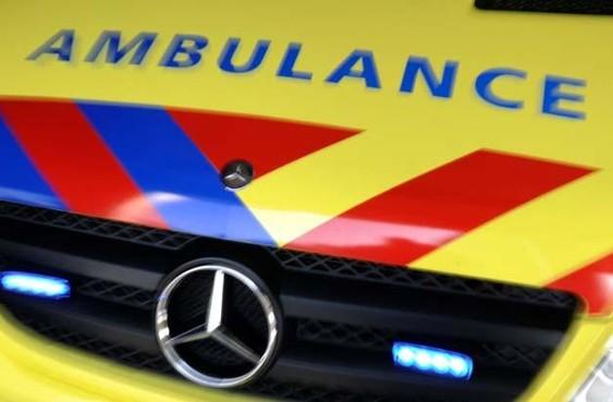 Automobilist botst tegen boom en raakt te water in Nederhorst Den Berg