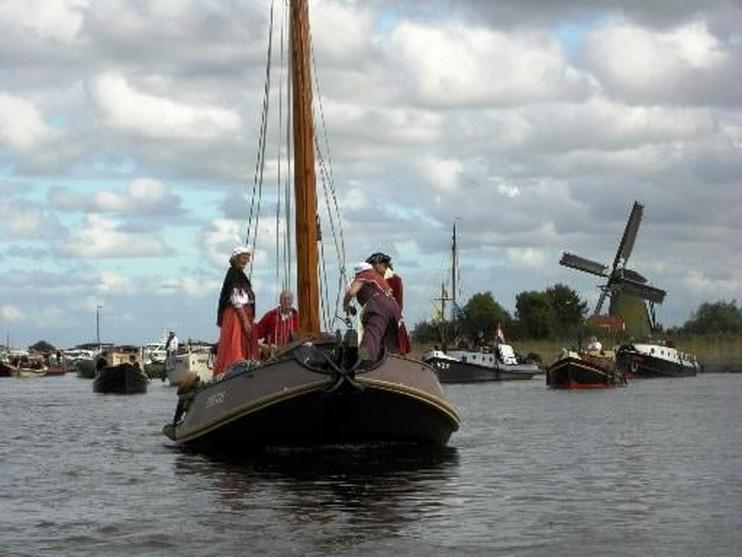 Leiden eind juli drie dagen vol oude schepen