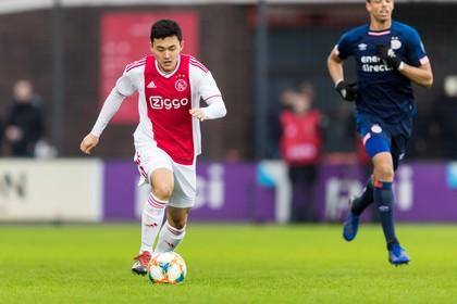 Oud-ADO'20-speler Jasper ter Heide leeft voetbaldroom bij Ajax