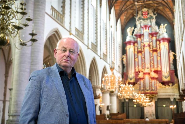 Zilveren erepenning voor Haarlemse stadsorganist [video]