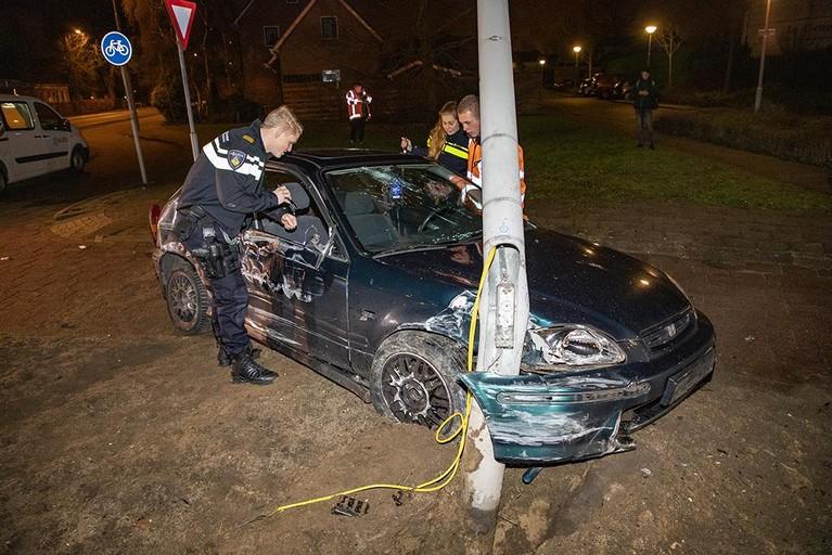 Betrokkenen ongeval Heemskerk slaan op de vlucht