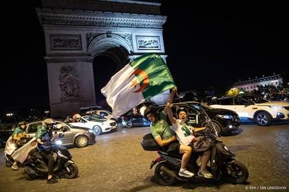 Weer rellen in Frankrijk na winst Algerije