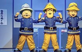 Brandweerman Sam op avontuur in IJmuiden.