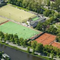 Het sportgedeelte van Park Roomburg.