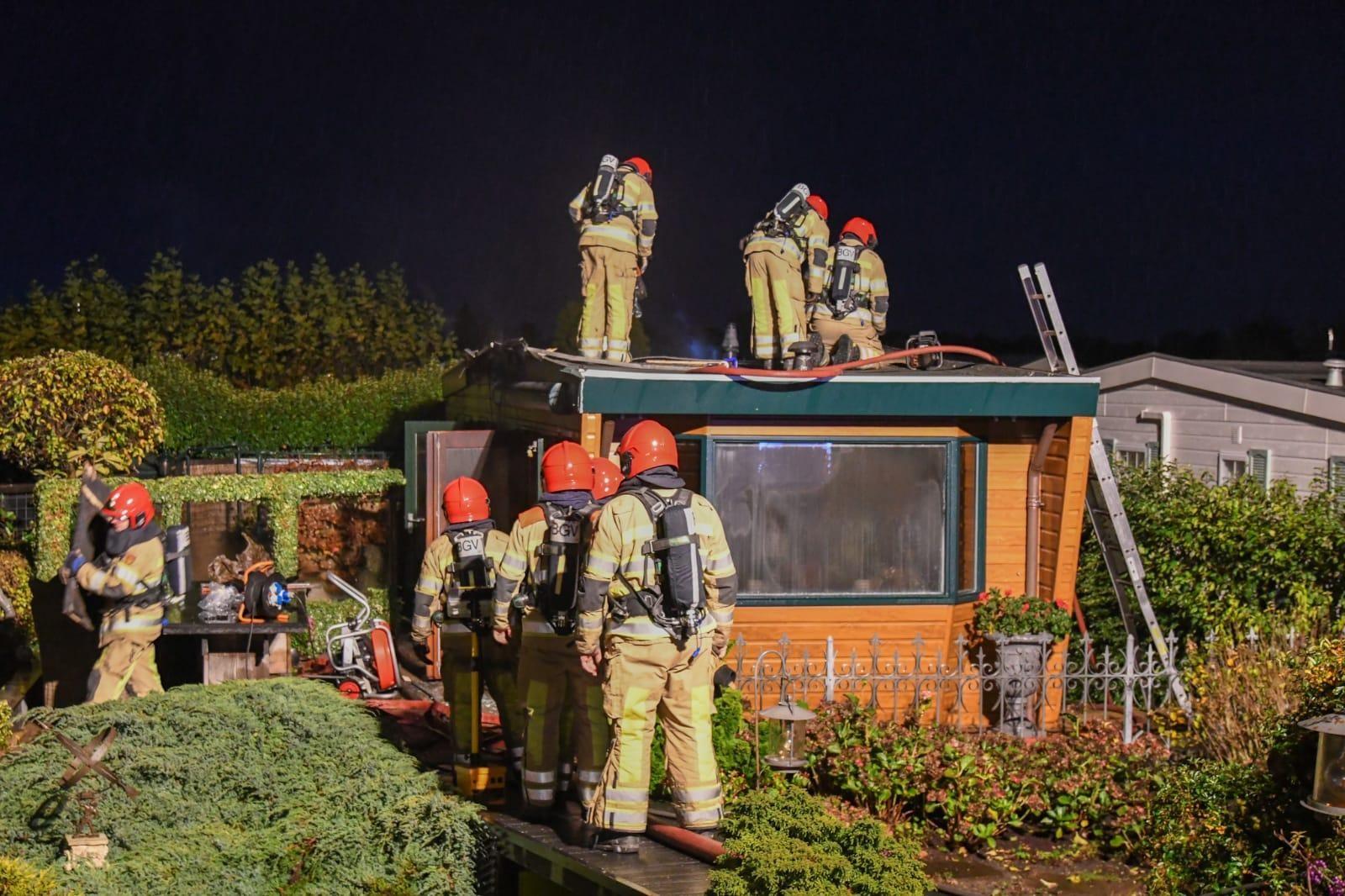 Opnieuw brand bij chalet Nederhorst den Berg - Noordhollands Dagblad
