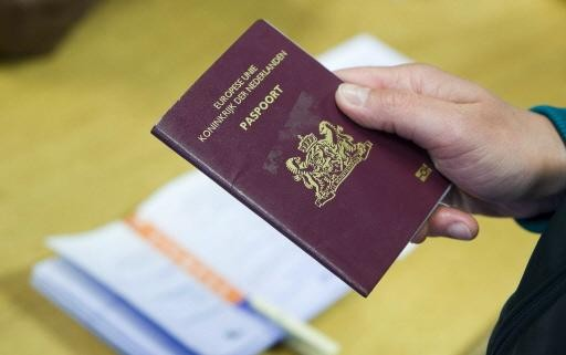 Hoofddorpse is paspoort met 'koffievlekken' kwijt