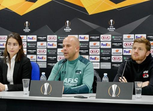 AZ treft landskampioen: 'Ik had liever dat ze die titel nog niet hadden gepakt'