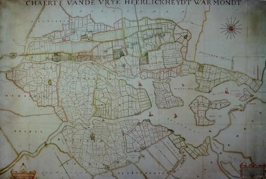 Historische kaart Warmond wordt gedigitaliseerd