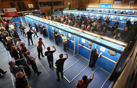 Namen, locatie, status, podium: alles is dit jaar weer wat groter tijdens West-Fries Open Darts