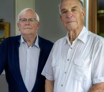 Journalistieke rotten Ruud Paauw en Jan Leune en de toekomst van de regionale journalistiek