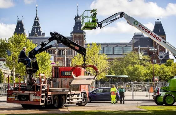 Amsterdam bereidt zich voor op huldiging Ajax