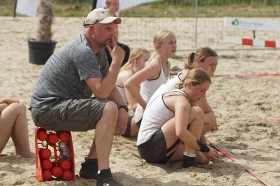 ZAP zaait met beachhandbal ook zaden in het zand