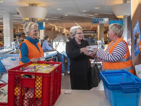 Gulle gaven voor najaarsactie Voedselbank
