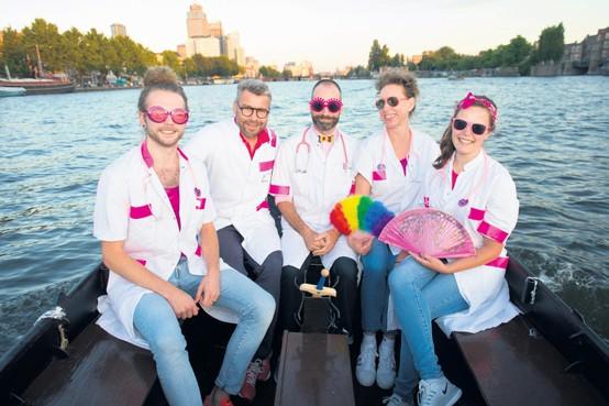 Artsen in Roze in Wit: 'Zeggen wat je bent, voelt elke keer als coming out'