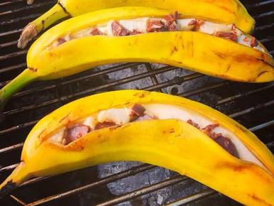 Slager gaat viral met barbecuebananen