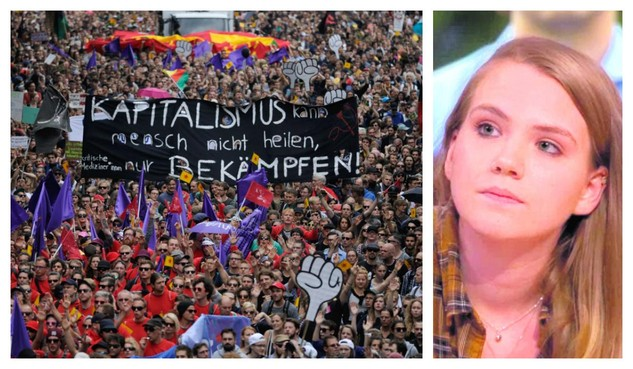 Anne Fleur Dekker over G20-demonstratie: 'Wij hebben duidelijk gemaakt dat we het niet pikken'