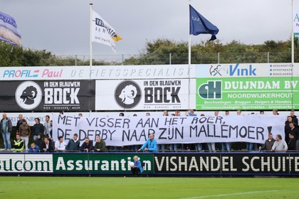 Katwijks derbygevoel in gedrang na boycot van supporters Quick Boys